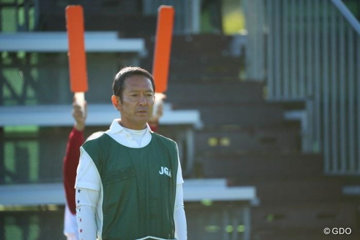 別に後ろからバカにされている訳ではありません。 2016年 日本女子オープンゴルフ選手権競技 2日目 @長野未祈キャディ