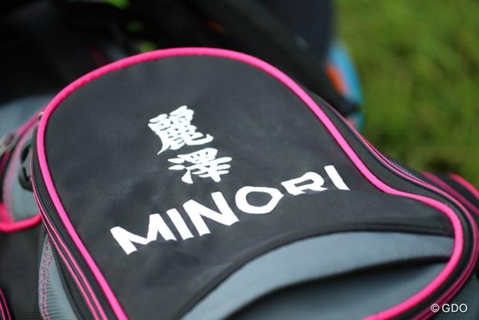 これなんなんだろう。名前じゃないし。 2016年 日本女子オープンゴルフ選手権競技 3日目 長野未祈