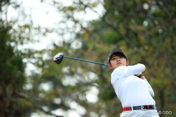 とにかく1打1打が丁寧って感じた。 2016年 日本女子オープンゴルフ選手権競技 3日目 長野未祈