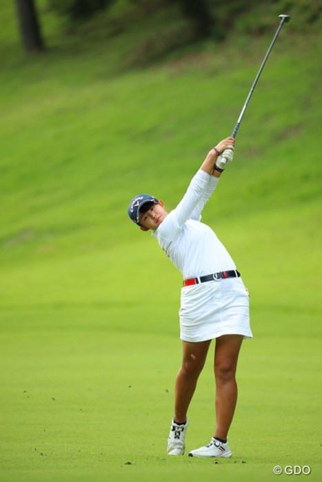 ほんとに15歳なんだろうか。何食べてるんだろう。 2016年 日本女子オープンゴルフ選手権競技 3日目 長野未祈