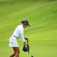 正しい作法。 2016年 日本女子オープンゴルフ選手権競技 3日目 長野未祈