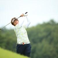 つま先上がりからのライン出しが上手い。 2016年 日本女子オープンゴルフ選手権競技 3日目 福田裕子