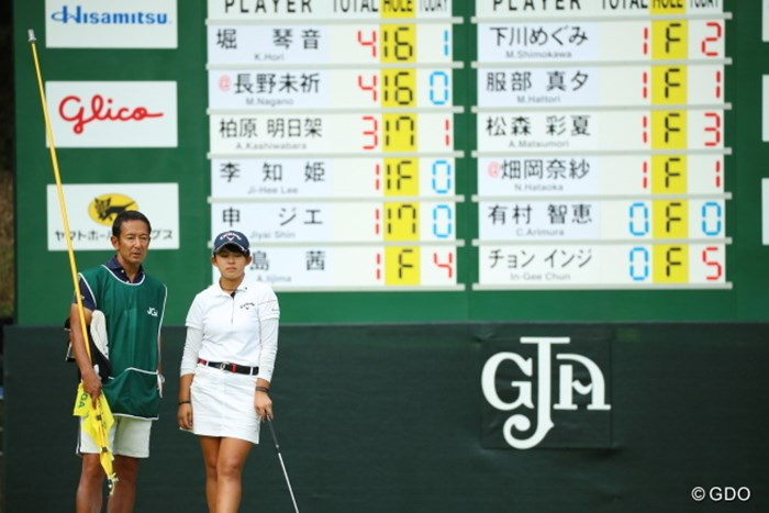 単独首位で最終日を迎えた長野未祈。あすは史上初の快挙がかかる 2016年 日本女子オープンゴルフ選手権競技 3日目 長野未祈