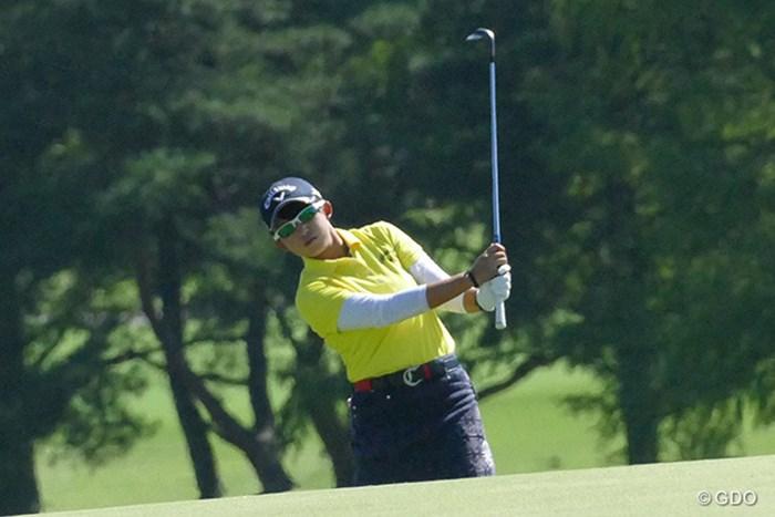 長野未祈は4つ落としてサンデーバックナインに突入した 2016年 日本女子オープンゴルフ選手権競技 最終日 長野未祈