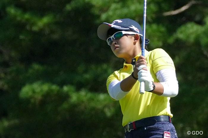長野未祈はパーで最終日をスタートした 2016年 日本女子オープンゴルフ選手権競技 最終日 長野未祈