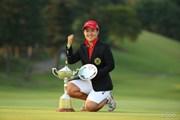 2016年 日本女子オープンゴルフ選手権競技 最終日 畑岡奈紗