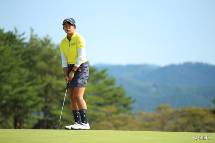 今日はパットが入らない! 2016年 日本女子オープンゴルフ選手権競技 最終日 長野未祈
