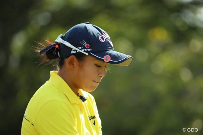 今日はボギーが先行する辛い展開となった。 2016年 日本女子オープンゴルフ選手権競技 最終日 長野未祈