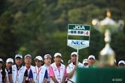 2016年 日本女子オープンゴルフ選手権競技 最終日 ボランティア