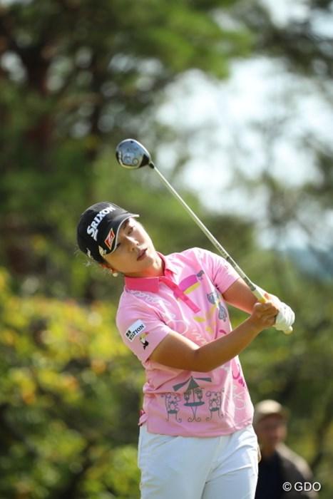 「ねー」って。 2016年 日本女子オープンゴルフ選手権競技 最終日 下川めぐみ
