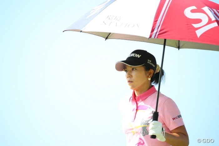 日傘がないとやってられない1日。 2016年 日本女子オープンゴルフ選手権競技 最終日 下川めぐみ