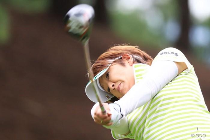 密かに2勝目狙ってる 2016年 スタンレーレディスゴルフトーナメント 2日目 福嶋浩子