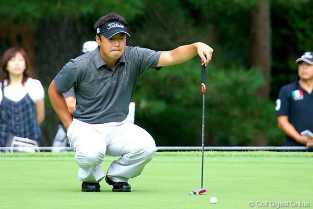 2009年 フジサンケイクラシック 最終日 丸山大輔 2005年大会の覇者、丸山大輔が単独2位に浮上した