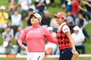 2016年 スタンレーレディスゴルフトーナメント 最終日 アン・ソンジュ、イ・ボミ