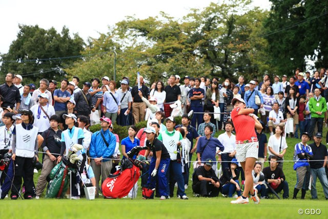 2016年 スタンレーレディスゴルフトーナメント 最終日 勝みなみ、畑岡奈紗 アマ2勝目はならなかったけど注目度抜群の二人