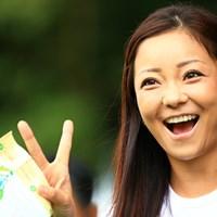 俺にも目線くれ! 2016年 HONMA TOURWORLD CUP AT TROPHIA GOLF 最終日 三塚優子