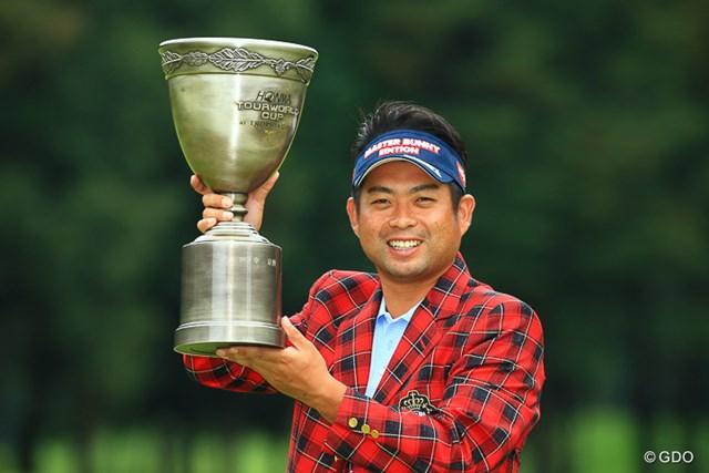 2016年 HONMA TOURWORLD CUP AT TROPHIA GOLF 最終日 池田勇太 池田勇太はソン・ヨンハンとの9ホールにわたるプレーオフを制した