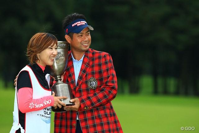 池田勇太は今週、スポット起用の坂井キャディとの初タッグで優勝をつかんだ
