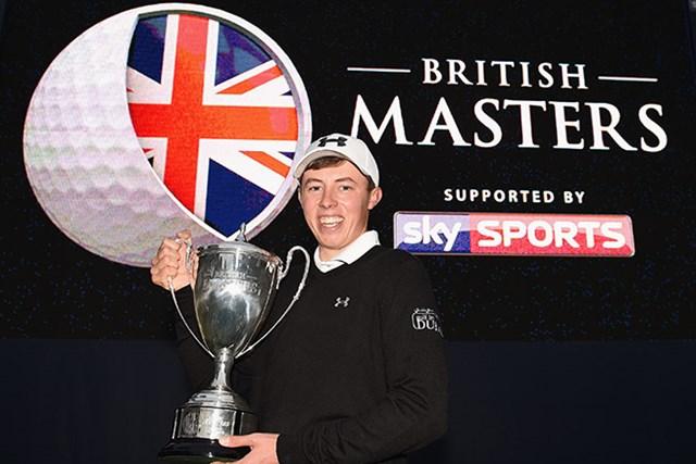 昨年は地元期待の若手マシュー・フィッツパトリックが完全優勝を果たした(Ross Kinnaird/Getty Images)