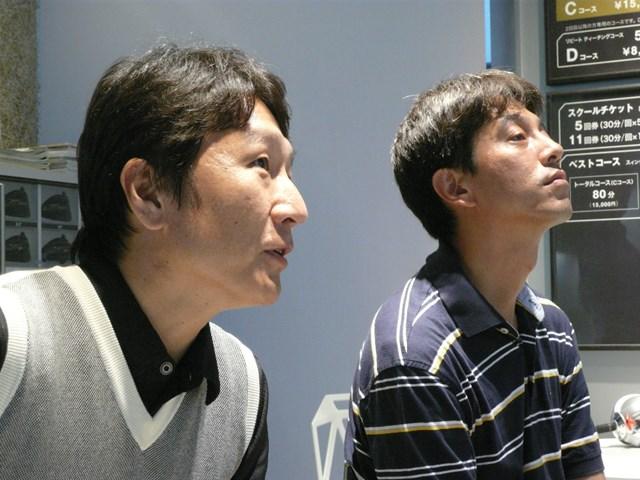 齋藤さんと宮川氏 齋藤さんと宮川氏