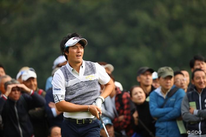 石川遼は3つ伸ばして通算2オーバーとした。ホールアウト時点で15位前後となっている 2016年 日本オープンゴルフ選手権競技 2日目 石川遼