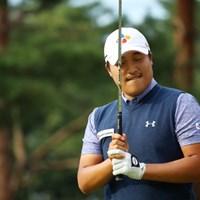 日本オープンを首位タイで折り返したイ・キョンフン。今年、韓国オープンを2連覇した 2016年 日本オープンゴルフ選手権競技 2日目 イ・キョンフン