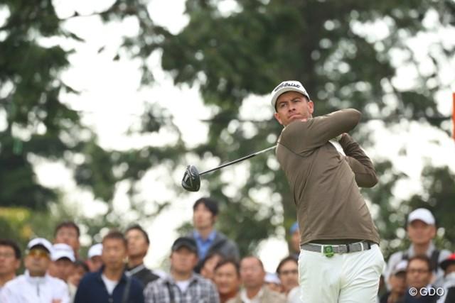 2016年 日本オープンゴルフ選手権競技 2日目 A・スコット 仇息子っとね。