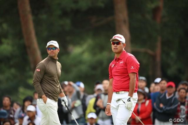 2016年 日本オープンゴルフ選手権競技 2日目 松山英樹 いまやサングラスをかけるって当たり前の事なんだな。
