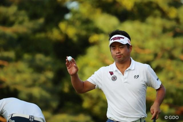 2016年 日本オープンゴルフ選手権競技 2日目 池田勇太 若大将の組も遅くまでギャラリーが多くついてるね。