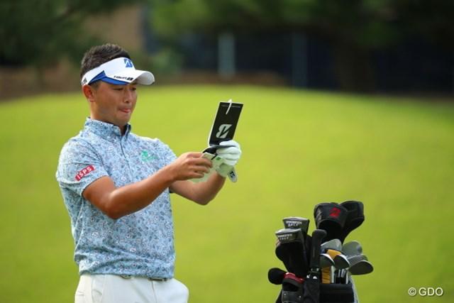 2016年 日本オープンゴルフ選手権競技 2日目 片岡大育 「うわ、もうこんなに貯まった!」