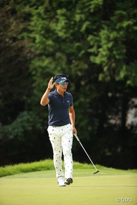 そして入ってしまうのだから。 2016年 日本オープンゴルフ選手権競技 2日目 矢野東
