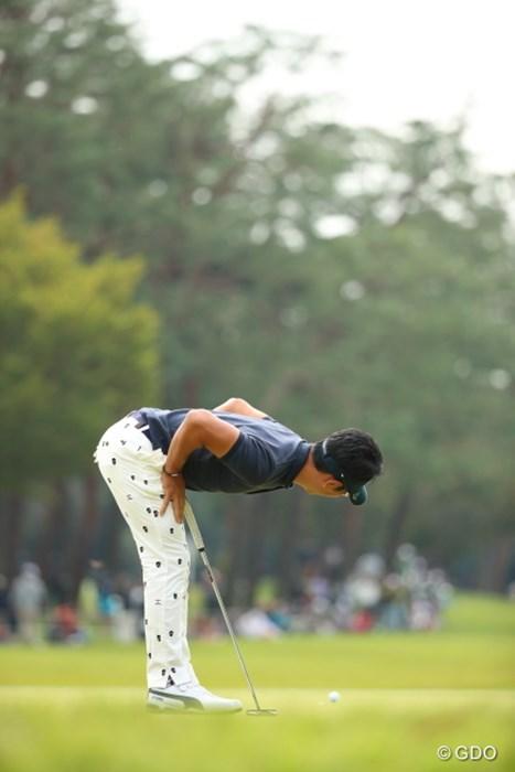 そのままでいると誰かが上を飛ぶよ。 2016年 日本オープンゴルフ選手権競技 2日目 矢野東