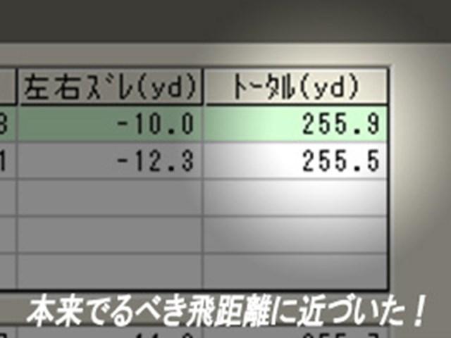 齋藤さん飛距離データ2
