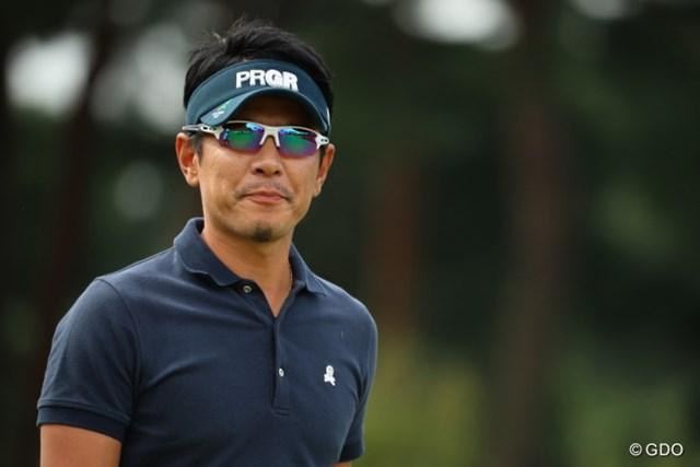 2016年 日本オープンゴルフ選手権競技 2日目 矢野東 見てるのかな?見てないのかな?