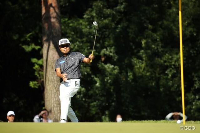 2016年 日本オープンゴルフ選手権競技 3日目 片山晋呉 ここまでの戦いぶりを「最高」と振り返った片山晋呉。上位2人に食い込めるか