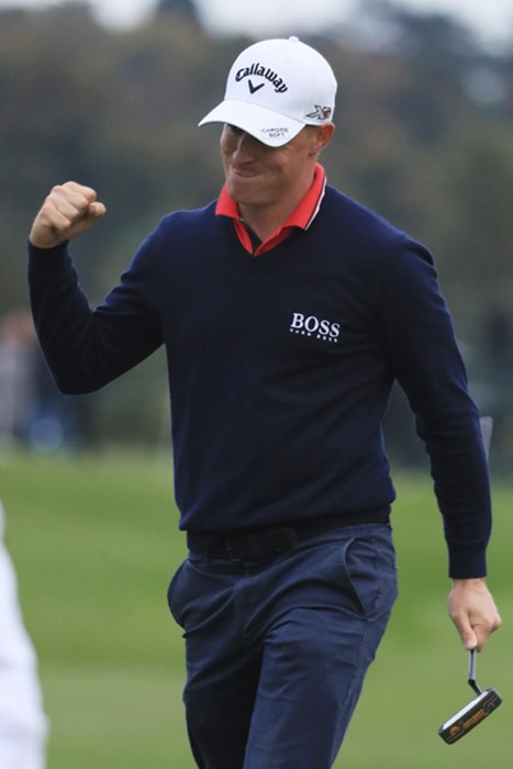 今シーズン好調のノレンがシーズン3勝目に王手をかけた(Matthew Lewis/Getty Images) 2016年 英国マスターズ by Sky Sports 3日目 アレックス・ノレン