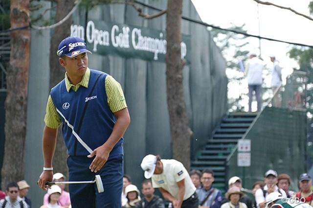 2016年 日本オープンゴルフ選手権競技 最終日 松山英樹 松山英樹と池田勇太の最終組対決はデッドヒートの様相で始まった