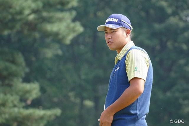 2016年 日本オープンゴルフ選手権競技 最終日 松山英樹 松山英樹は前半に2つ伸ばし、通算6アンダー。後続に4打差でバックナインに突入した