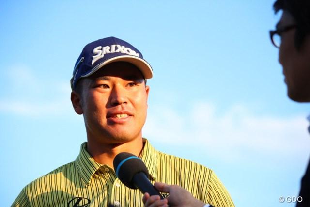 2016年 日本オープンゴルフ選手権競技 最終日 松山英樹 初の国内メジャータイトルを獲得した松山英樹。日本のファンの前で好プレーを披露し続けた