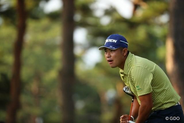 2016年 日本オープンゴルフ選手権競技 最終日 松山英樹 ギャラリーはこの熱いプレーを求めているんだ。