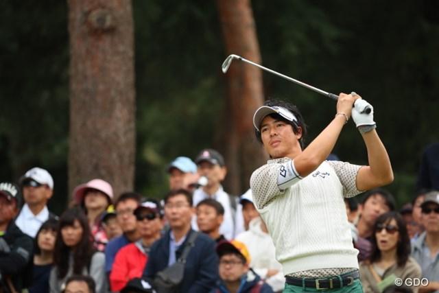 2016年 日本オープンゴルフ選手権競技 最終日 石川遼 石川遼は最終組に負けない数のギャラリーを引き連れてのプレーだった