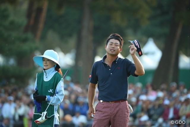 2016年 日本オープンゴルフ選手権競技 最終日 池田勇太 燃え尽きたよう。