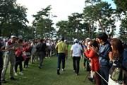 2016年 日本オープンゴルフ選手権競技 最終日 松山英樹
