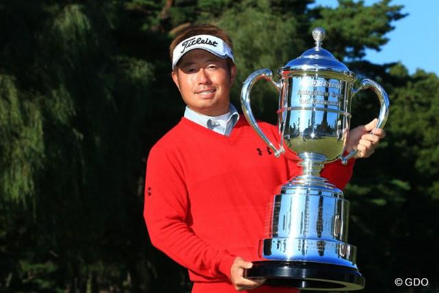 2016年 ブリヂストンオープンゴルフトーナメント 最終日 松村道央 昨年は松村道央が逆転でツアー通算5勝目を挙げた