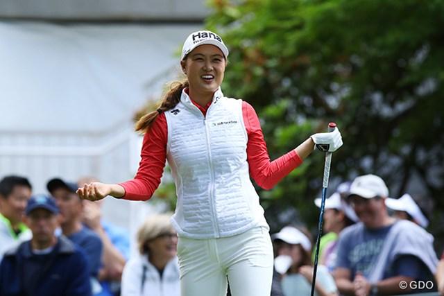 単独首位で発進したミンジー・リー※撮影は2016年「KPMG女子PGA選手権」