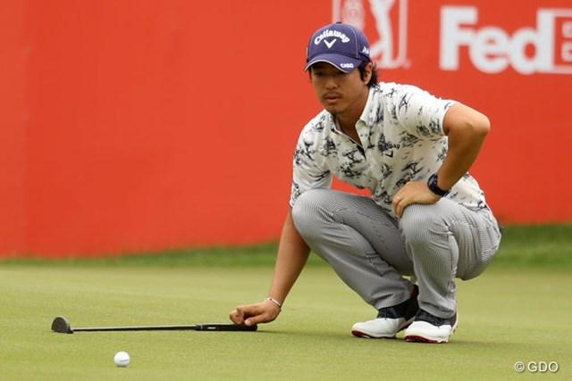 米ツアー復帰戦を戦っている石川遼は不満の内容が続く中でも上位をキープ