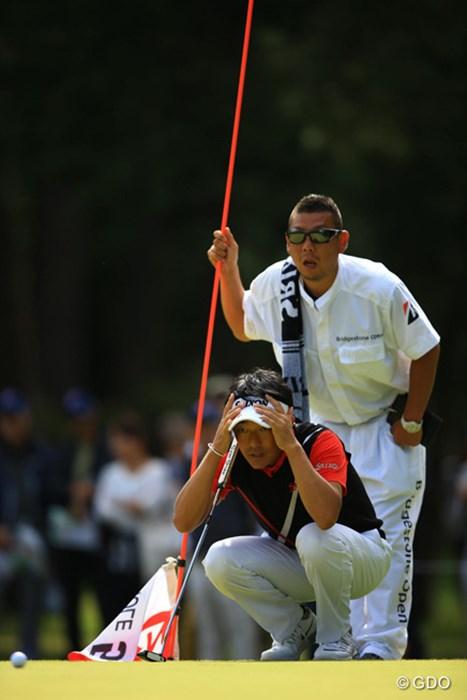 11度目の「最終日最終組」も初優勝は遠く。山下和宏は5位タイで最終グリーンを降りた 2016年 ブリヂストンオープンゴルフトーナメント 最終日 山下和宏