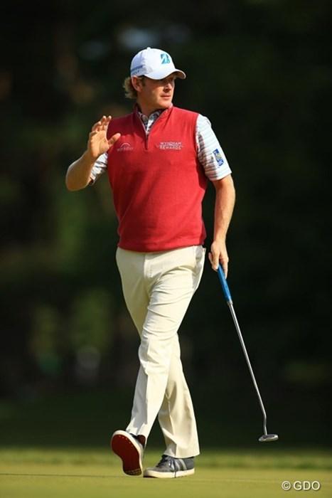 来年も是非来日を! 2016年 ブリヂストンオープンゴルフトーナメント 最終日 ブラント・スネデカー