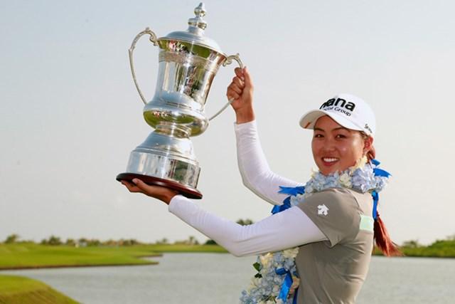 ミンジー・リーが完全優勝で今季2勝目を挙げた(Kevin Lee/Getty Images)