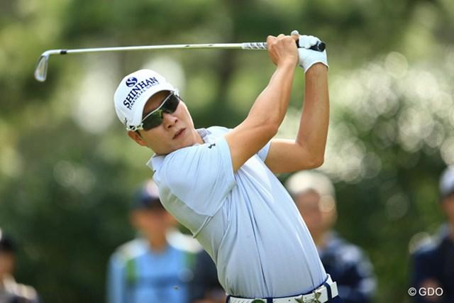 2016年 ブリヂストンオープンゴルフトーナメント 最終日 キム・キョンテ キム・キョンテは6試合ぶりの復帰戦で単独2位。優勝は逃したがさすがの実力を見せた